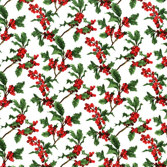 RJR's Merry Berry Bright Fabric Hearts & Shortbread