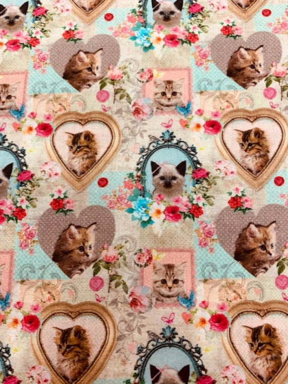 LeQuilt STOF France  Cat & Dog Fabric Collection