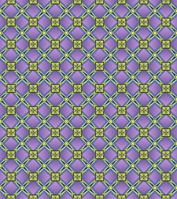 Reflections Purple Princess Cut w/Metallic Gold Fabric  by Sasha K Studios Coordinates 790