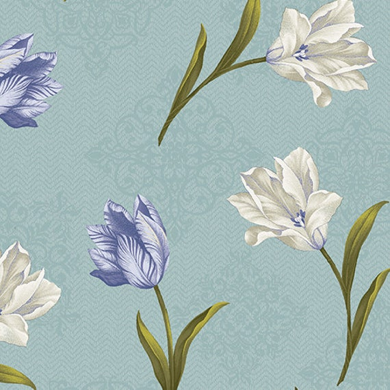Totally Tulips Fabric Collection by Benartex