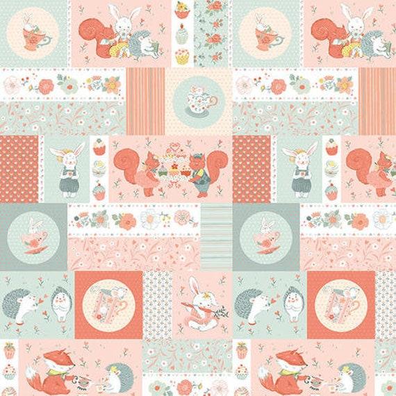 Studio E Fabrics Woodland Tea Time Fabric Collection