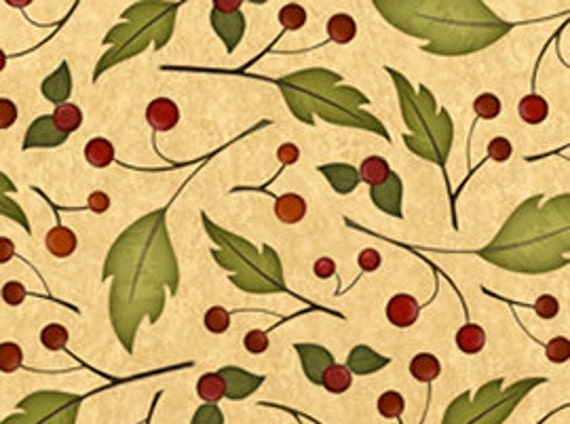 Quilting Treasures Fabric Harvest Fare - Berries
