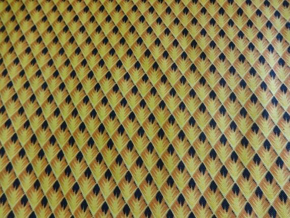 Black and Gold Pattern Fabric  551