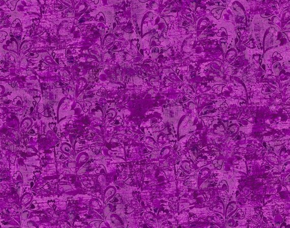 3 Wishes Fabric In the Meadow Purple