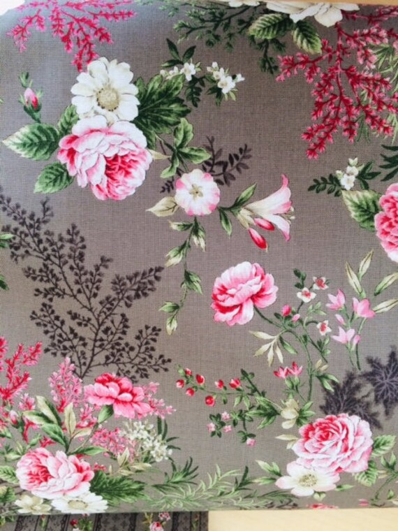 Juliet Large Roses  Fabric by STOF