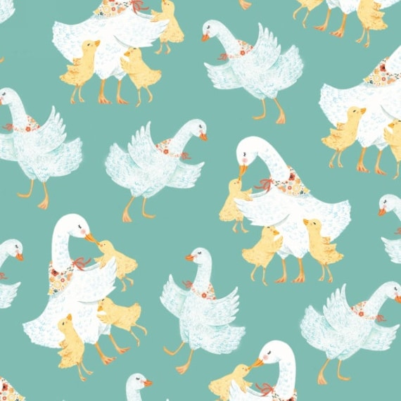 Ducky Tales Fabric Mother Ducks By Studio E