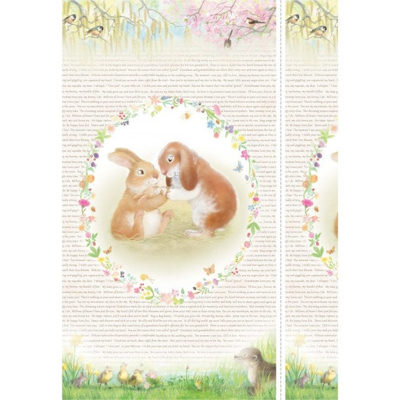 Michael Miller Honey Bunny Fabric Collection