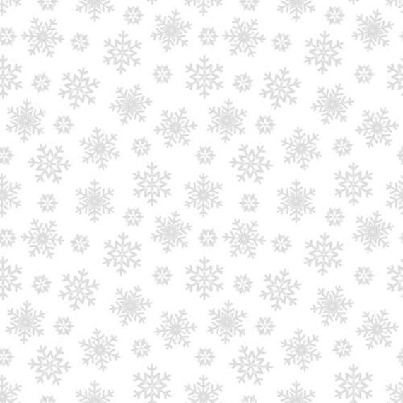 Blank Quilting Morning Mist IV White Tonal Fabric