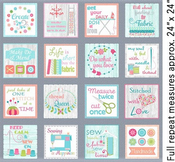 Contempo  My Happy Place Fabric Collection