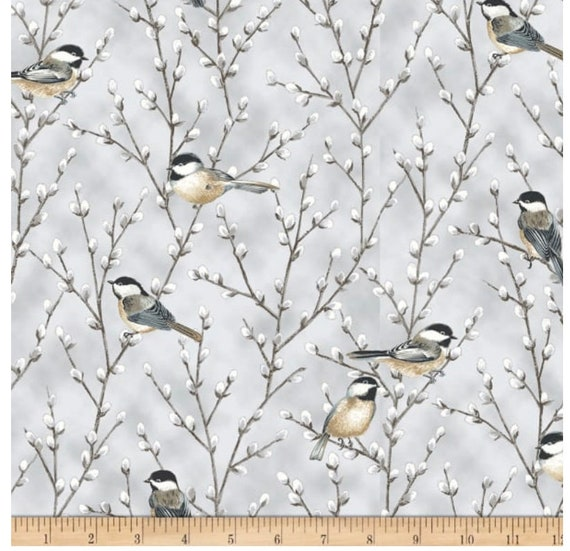 Hoffman First Snowfall Fabric Collection