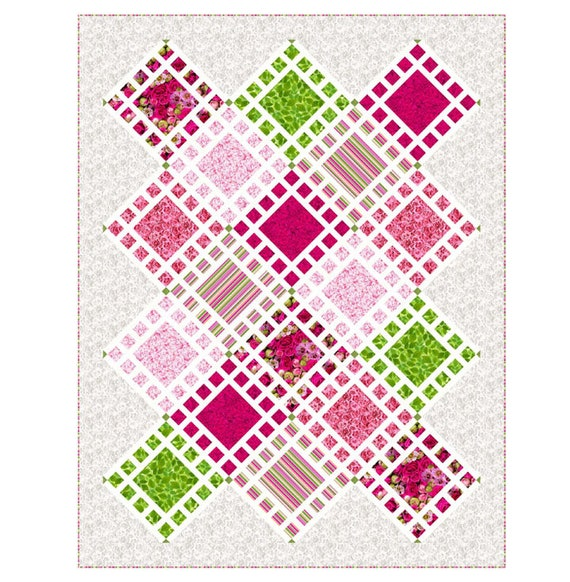 Aliquot Quilt Kit by Northcott Fabric