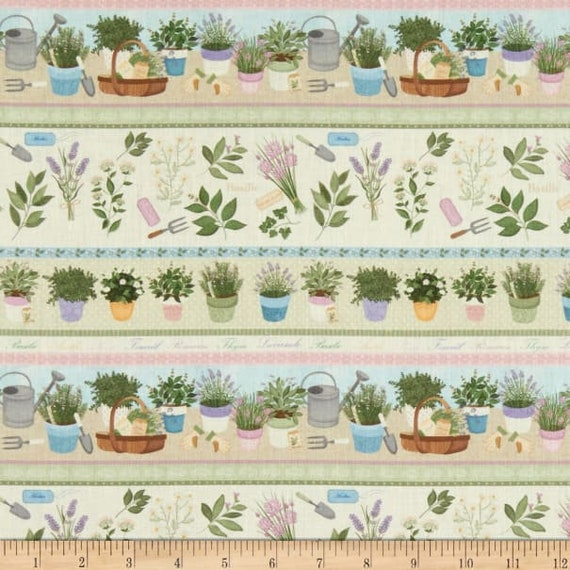 LeQuilt STOF France Garden Fabric Collection