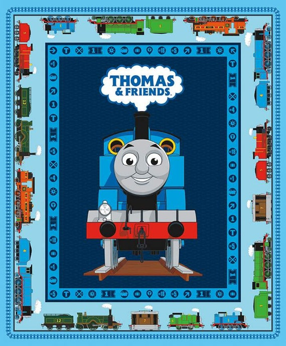Riley Blake All Aboard! Thomas & Friends Fabric Collection