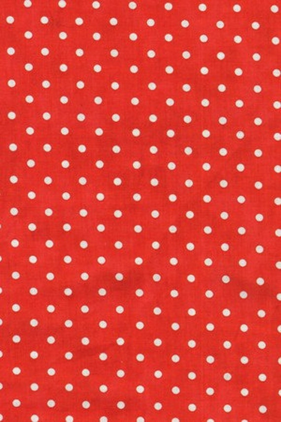 Riverwood Collection Go Teams Fabric  Polka Dots 151 by Karen Comb