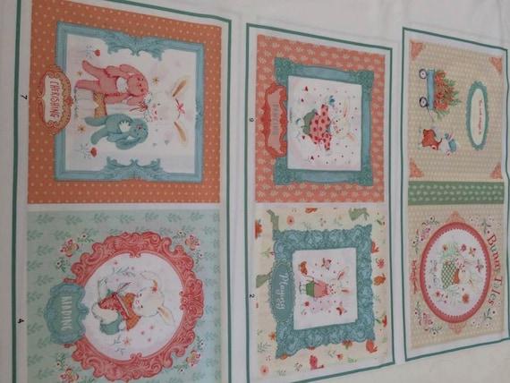 Studio E Bunny Tales Fabric by Lucie Crovatto