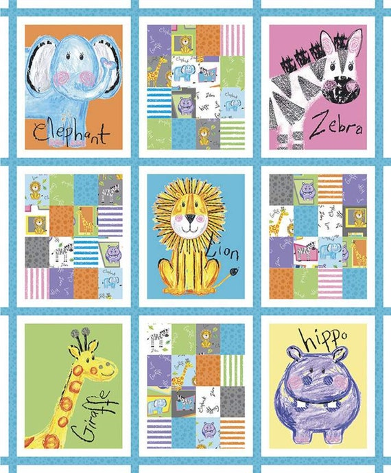 Riley Blake Colorful Friends Fabric Collection