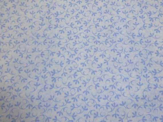 Blue Vines Baby Coordinate Fabric 350