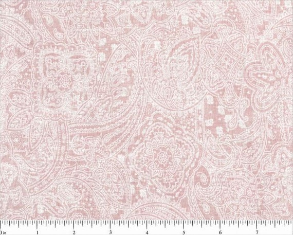 "Choice Fabrics Pretty in Pastel Paisley 108"" Backing Collection"