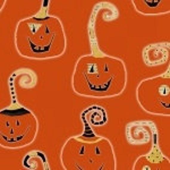 Halloween Cheeky Wee Pumpkins Fabric 3268
