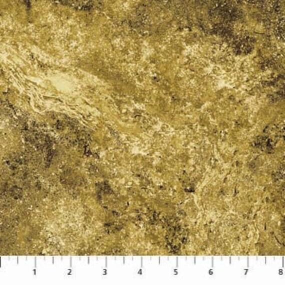 Northcott Stonehenge Tan & Black Marble Fabric  228