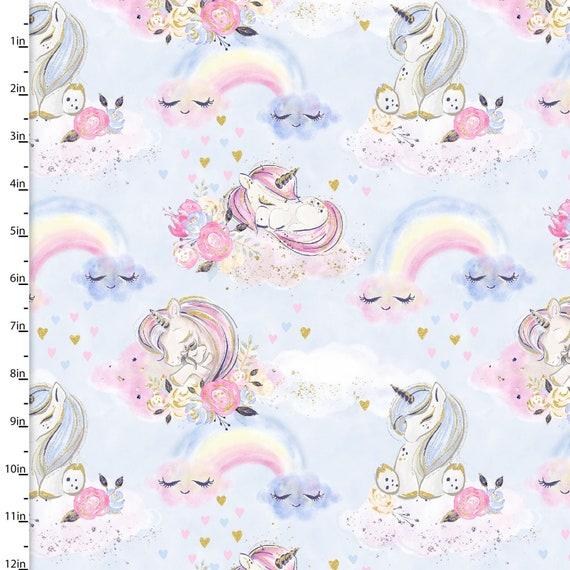 3 Wishes Fabric Unicorn Utopia Collection