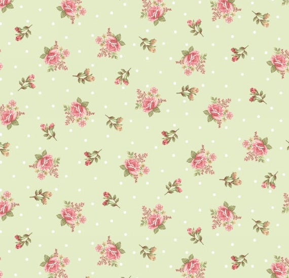 Peaceful Garden Fabric Henry Glass-8696