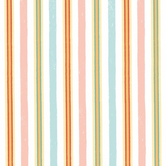 Ducky Tales Fabric Stripes By Studio E