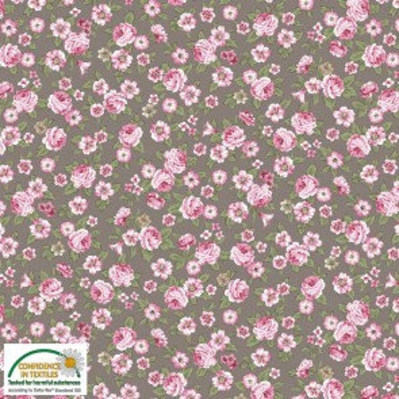 Juliet Roses Fabric by STOF