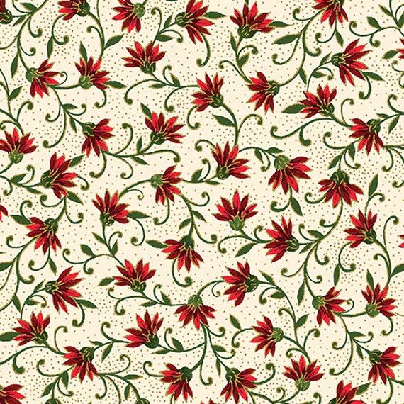Kanvas Holiday Fabric Joyful 8283M