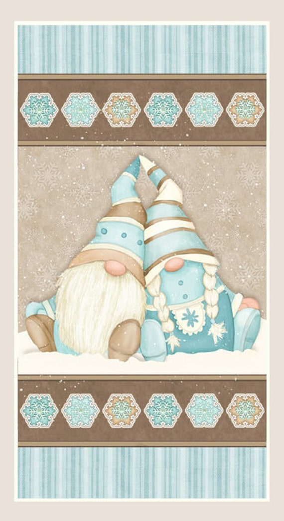 Henry Glass I Love Sn'Gnomies Flannel Fabric Collection