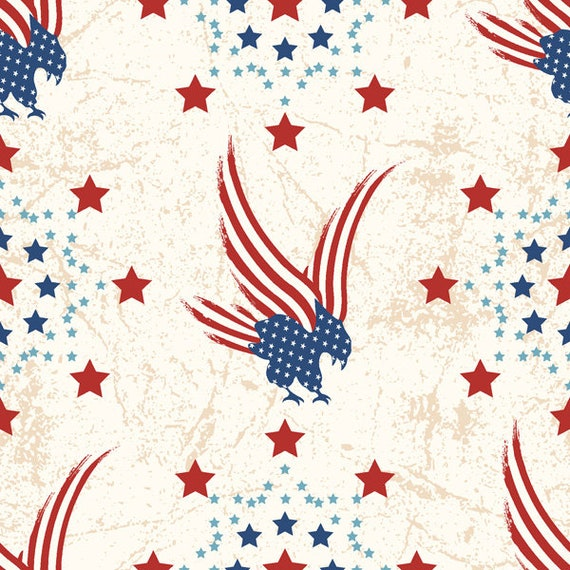 River Bend Stars of Valor Fabric Collection