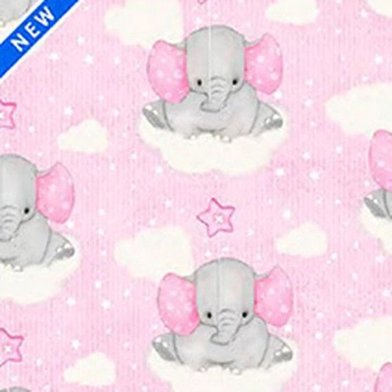 A. E. Nathan Comfy Flannel Baby Elephant Collection