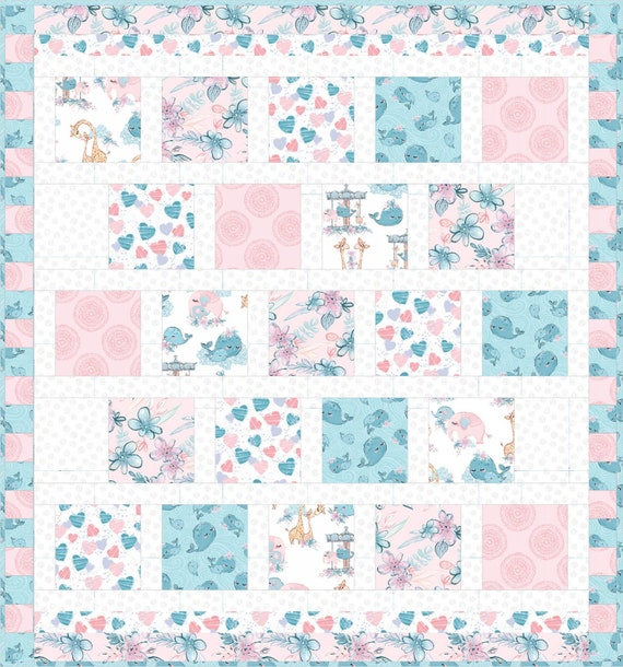 Mommy and Me Quilt Kit