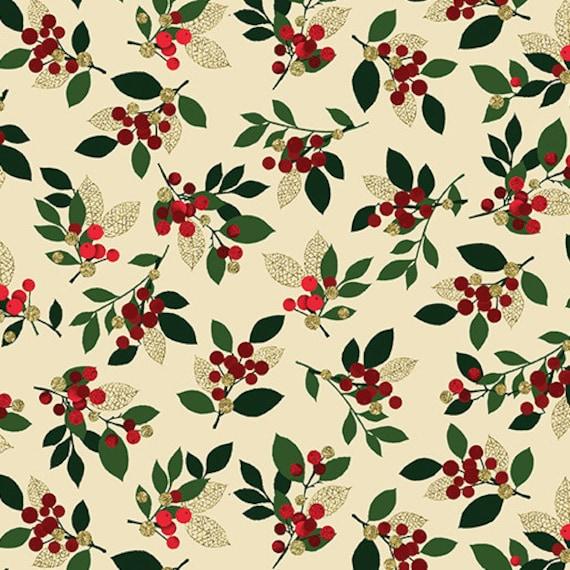 Kanvas Holiday Fabric Joyful  8278M