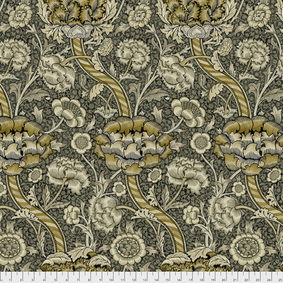 Free Spirit Fabrics The Original Morris & Co Golden Flowers Fabric Collection