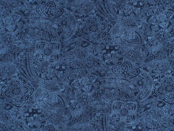 "Choice Fabrics Dark Paisley 108"" Backing Collection"