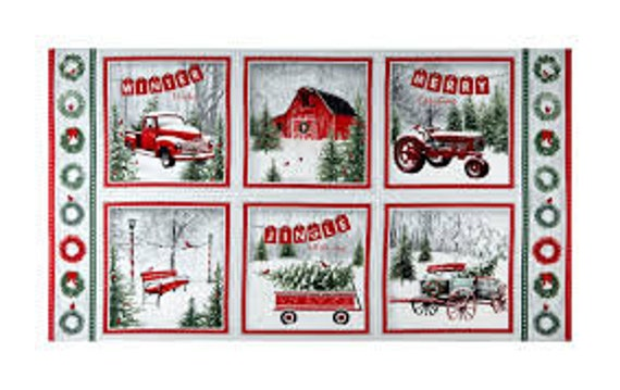 Holiday Wishes Henry Glass  Fabric