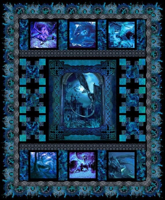 Dragons Quilt Kit by Jason Yenter