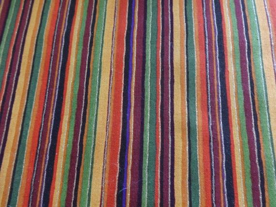 Fall Stripes w/Metallic Gold Fabric  673