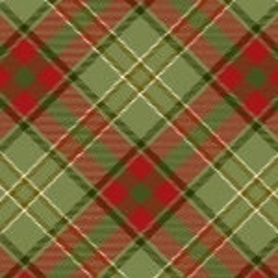 Henry Glass Moose Lodge Plaid Fabric