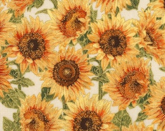 Robert Kaufman Fabrics Autumn Sunflowers