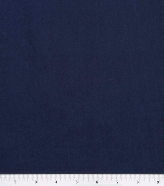 Kona Premium Cotton Fabric By Robert Kaufman Navy