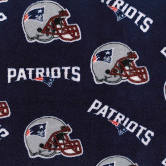New England Patriot Fleece - Fabric Traditions