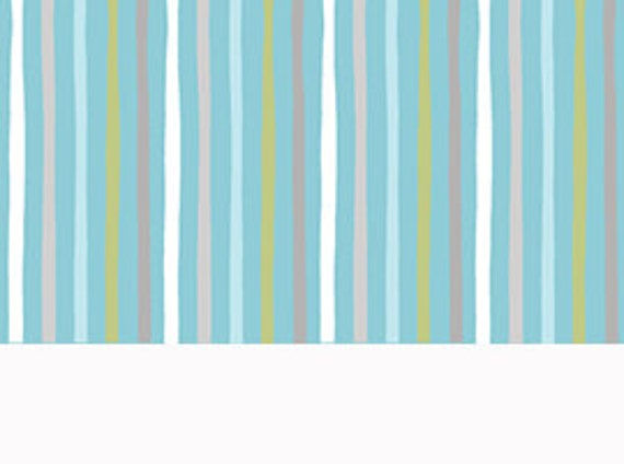 Special Delivery Blue Stripe Fabric