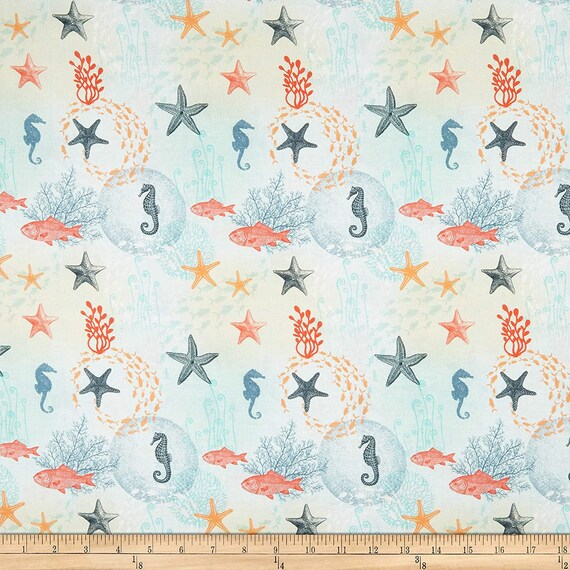 LeQuilt STOF France Under the Sea Bord de mer Fabric Collection