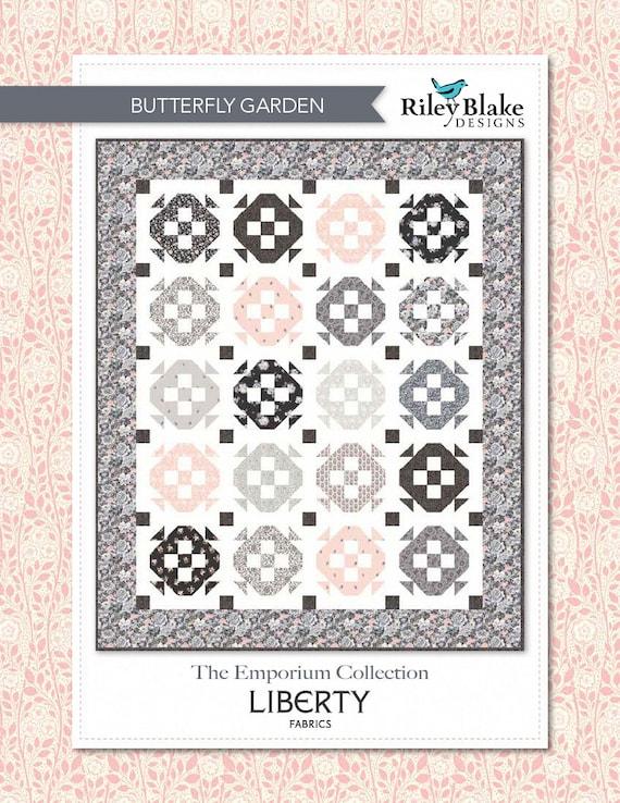 Butterfly Garden Quilt Kit by Riley Blake Designs