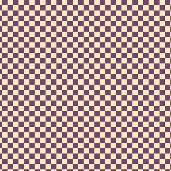 VIP Fabrics Purple Checks Fabric 310