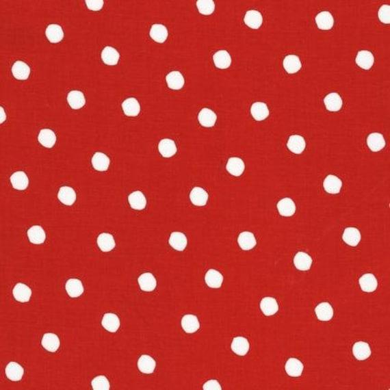 Dr Seuss Cat & The Hat Dot Fabric