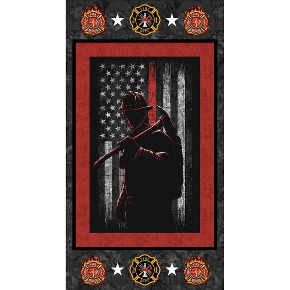 Sykel Enterprises Firefighter Fabric Collection