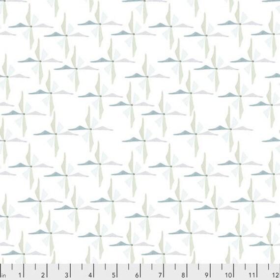 Free Spirit Fabrics Shell Rummel Powder Blue Collection